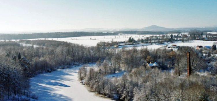 Zimowe pozdrowienia z Jerzmanek
